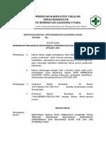 Sk Tentang Keharusan Melakukan Identifikasi, Dokumentasi Dan Pelaporan Kasus Knc, Kpc Dan Ktd