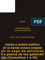 TESIS Doctoral sobre John Williams  Star Wars- Juan Urdániz Escolano