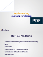 Custom Renderers