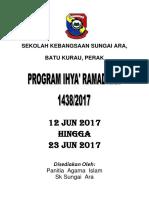 Kertas Kerja Ihya Ramadahn 2017