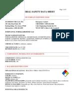 MSDS formaldehyde gas.pdf
