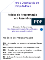 05 - Pratica de Programacao Assembly 8086