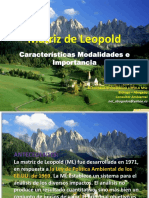 Matriz de Leopold 2