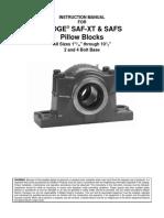 Dodge SAF XT SAFS Instruction Manual