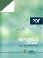 Informativo CAUMG – Reforma Legal