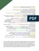 Cronologia Guerra de Reforma