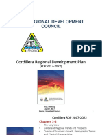 Cordillera Regional Development Profile