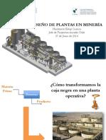 Diseño de Plantas en Mineria