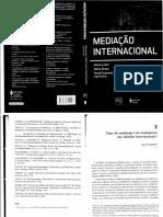 Caps 3 e 4 - Mediação Internacional