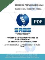 Modelo de Dbc-Anpe Consultoria