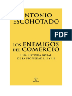 Descargar Los Enemigos Del Comercio Pack by Antonio Escohotado Libro
