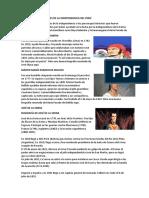 Los Mártires de La Independencia Del Perú