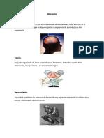 Glosario  Basico de cognitivos