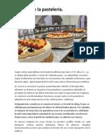 Historia de La Pastelerí1