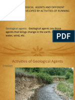 Activities of Geological Agents