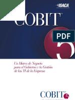 COBIT 5ta Edición Español (ISACA)