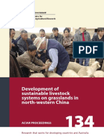CSIRO Development of Sustainable Livestock Systems on Grasslands in North-western China