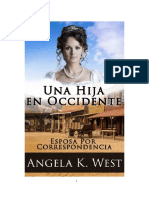 Angela K. West - Esposa Por Correspondencia 01 - Una Hija en Occidente