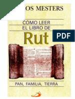 Carlos Mesters . Rut Una Historia de La Biblia.