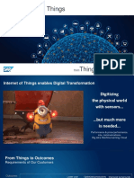 SAP and IoT