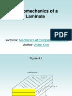 Macromechanics of a Laminate