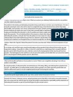 Product Development Worksheet 1
