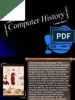 CSCI01TD - Computer History Presentation