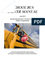 School Bus Driver Manual