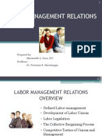 Labor Management Relations Manel