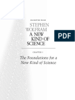 The Foundations for a New Kind of Science