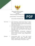 Peraturan Komisi Informasi 1 Tahun 2017