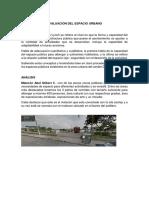 Evaluacion Del Espacio Urbano Adecuacion