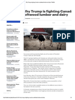 Why Trump is Fighting Canada on Softwood Lumber and Dairy _ TheHill
