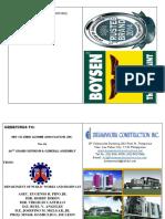 Souvenir Program Initial Layout 2016