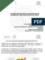 Bxsqueda Exhaustiva de La Informacixn Xprotocolo de Bxsquedax. Lic. Josx Alejandro Martxnez Ochoa
