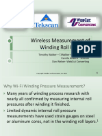 Wireless Measurement of Winding Roll Pressure
