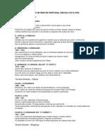 Sucessão de Reis Portugueses Do Século XVI e XVII