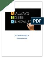 RattanIndia Solar Handbook