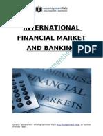International Financial Market And Banking Sectors