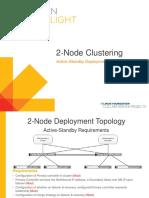 2 Node Clustering