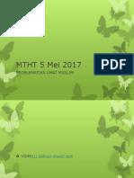 MTHT 5 Mei 2017