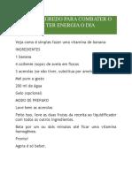 O NOSSO SEGREDO PARA COMBATER O CANSAÇO E TER ENERGIA O DIA INTEIRO.docx