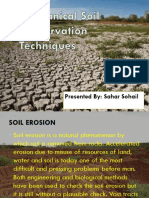 Mechanical Soil Conservation Techniques