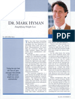 DR. MARK HYMAN-- Simplifying Weight Loss.