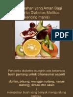 Buah Buahan Yang Aman Bagi Penderita Diabetes Mellitus