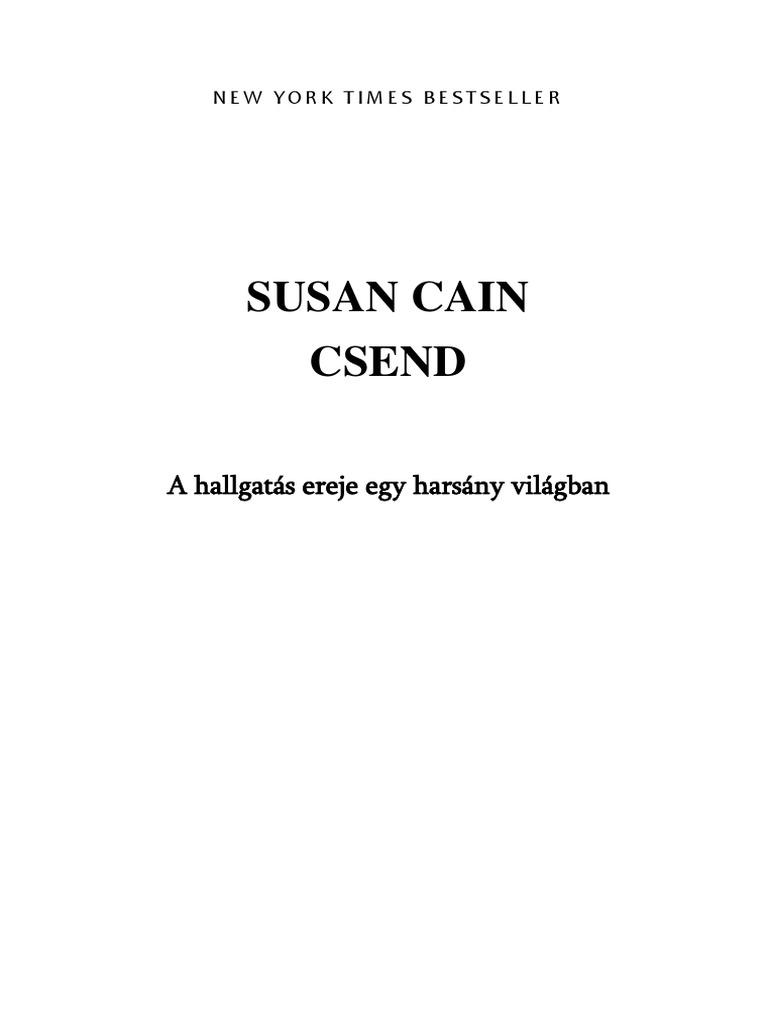 f6a6a3a4b8 Susan Cain - Csend