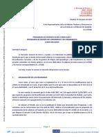 01-06-2015 Organización y financiación Programas Diversificación Curricular y PEMAR, curso 2015-2016.pdf
