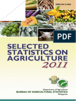 Selected Statistics on Agriculture 2011