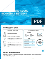 Nielsen Report - The New Trend Among Indonesia's Netizens