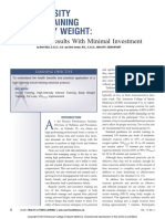 High Intensity Circuit Training Using Body Weight